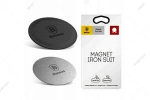 Купить Набор пластин для автодержателя Baseus Magnet Iron Suit, черный от 110 рублей | GSM-OПT - www.gsm-opt.ru