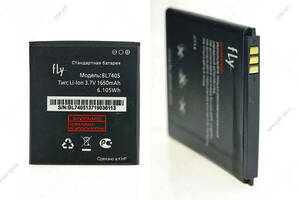 Аккумулятор для Fly BL7405 IQ449 Pronto/ Highscreen Zera F (rev.S) 1650 mAh