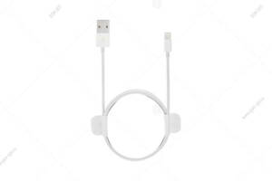 Кабель USB TopTurbo для iPhone X/ XS/ XR/ X Max Lightning - 8-pin, MFI, оригинал, MF-SC03, белый