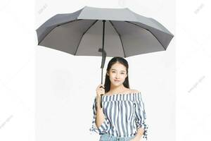 Зонт Xiaomi HuaYang Super Large Automatic Umbrella, серый
