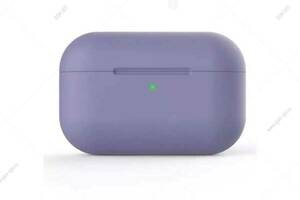 Чехол Silicone Case Slim для наушников AirPods Pro, лавандовый